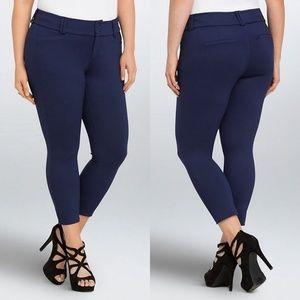 🛸TORRID Cropped Trouser Pant --All Nighter Ponte